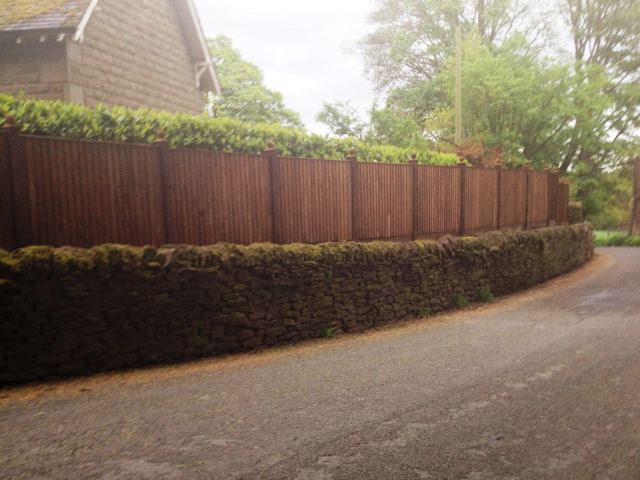 Garden Fence by Cheadle Hulme Fencing